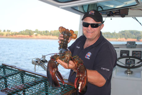 Prince Edward Island - lobster boat dinner