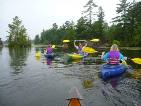 Kawarthas - kayaking