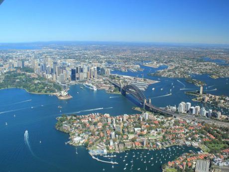 Sydney Harbour: Air Safaris International