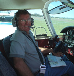 A.J. (Jack) Thompson: Air Safaris International Pilot