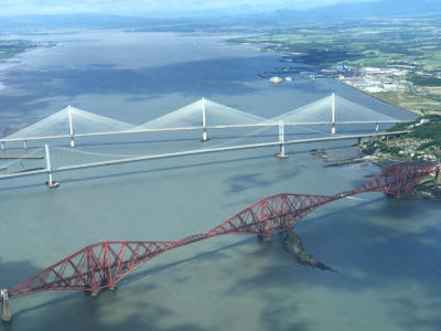 Firth of Forth Bridges at Edinburgh