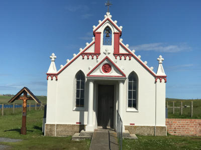 WWII Italian Chapel at Scapa Flow Orkney Islands