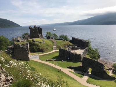 Urquhart Castle, Loch Ness Scotland.