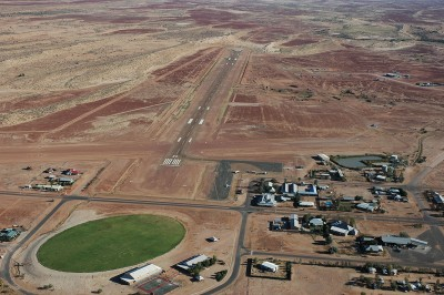 Birdsville and it's airstrip