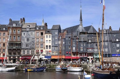 Honfleur, the old harbour