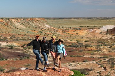 The Breakaways at Coober Pedy