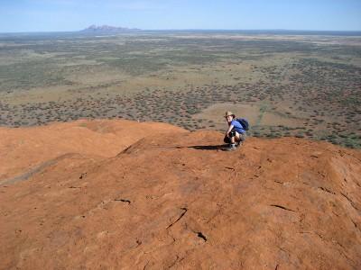 Atop Uluru