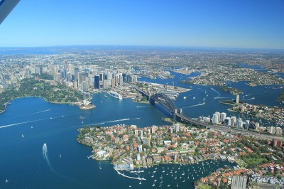 Sydney Harbour scenic flight