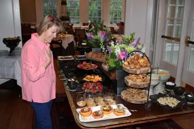 Amazing breakfast at Langdon Hall.