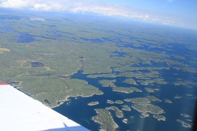 Georgian Bay coastline.