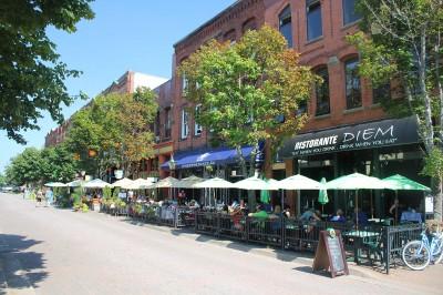 Street scene, Charlottetown