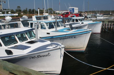 Fishing boats, PEI