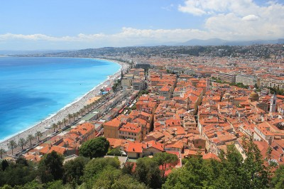 The tile roofs of Nice
