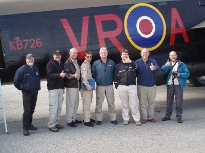 The Lancaster joy ride crew.