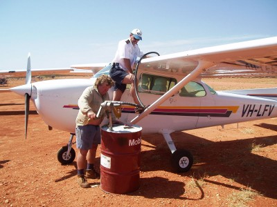 Outback refuelling system